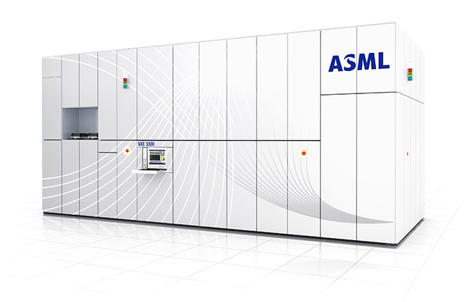 ASML计划2018年售出20台全新极紫外光刻机