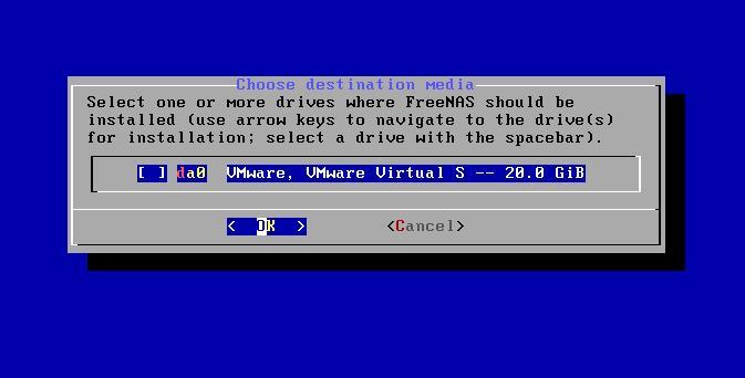 FreeNAS最新版11.3在VMware Workstation 15上的安装过程分享(图文)