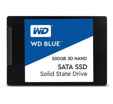 西部数据 500GB SSD固态硬盘 SATA6Gb/s接口 Blue系列-3D进阶高速读写版