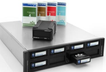 腾保数据 RDX QuikStation 8 可移动磁盘库