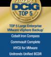 DCIG评选五款大型企业 vSphere 备份解决方案