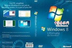 Windows 8 Pre Beta DVD概念封面欣赏