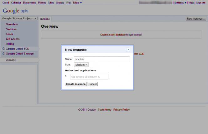 新增 MySQL实例