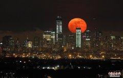 超级月亮SuperMoon,今儿晚的月亮特别大