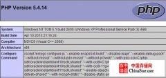 Windows系统安装配置Apache,MySQL,PHP服务器环境
