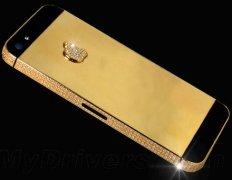 亮瞎眼!奢侈品公司为土豪准备的价值一亿的iPhone 5