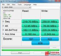 AS SSD Benchmark中文汉化版下载 固态硬盘测试利器
