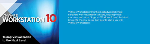VMware workstation 10 最新版序列号分享及注册机下载
