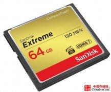 闪迪至尊极速CF存储卡 64GB报价699元