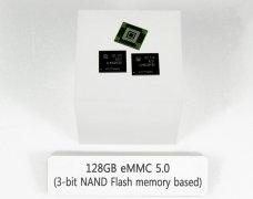 三星量产eMMC 5.0移动存储器 采用3bit闪存颗粒