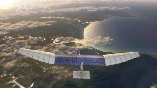 Facebook新计划:千架太阳能无人机联网全世界