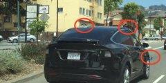 特斯拉Model X SUV上惊现秘传感器