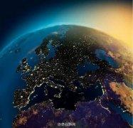 NASA航拍地球夜景 夜光璀璨美轮美奂