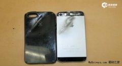 iPhone 5S手机神勇 挡子弹救大学生