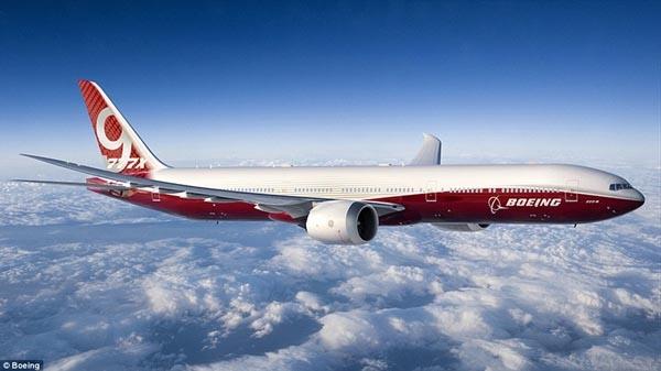 全球最大客机波音777-9X曝光:翼展近72米