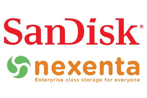 Nexenta和闪迪在将联合推开放型软件定义存储全闪存阵列