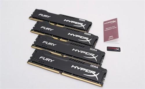 主频大幅提升 金士顿DDR4内存全面上市