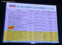 《2015年中国高性能计算机TOP100排行榜》 天河二号仍是霸主