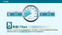 希捷2TB 7200转64M SATA3 台式机硬盘(ST2000DM001)