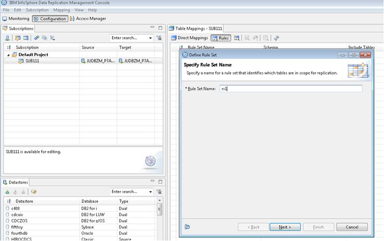 使用 InfoSphere CDC 实现 DB2 数据库的 DDL 复制