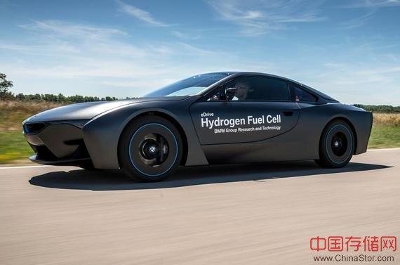 242马力!宝马最新氢燃料电池汽车靓照曝光