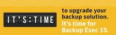 Backup Exec 15下载及许可说明