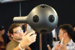 诺基亚官方宣布,OZO虚拟现实摄像头11月底开卖