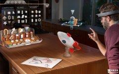 提前体验HoloLens,微软在第五大道旗舰店内设置体验区