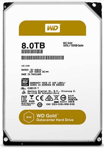 西数打造面向数据中心的Gold产品组合