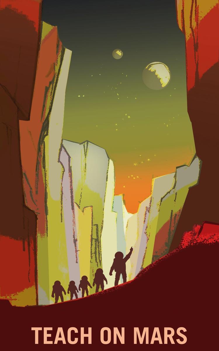 NASA招募火星志愿者 农民、测量师、教师都要