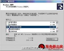 Win2003系统中IIS安装步骤图文教程
