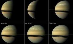 科学家利用空间站平台观测数据研究土星风暴