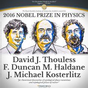 诺贝尔物理奖揭晓:三个美国科学家获奖