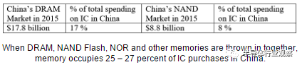 中国存储器还要跨越三座大山才能走向成功
