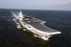 外媒:中国海军第三艘航母什么样子