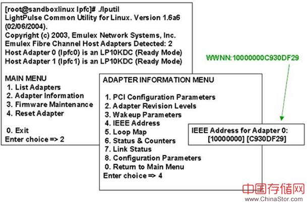 Linux下HBA卡的连接配置过程分享