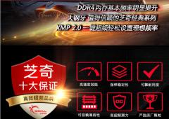 芝奇(G.Skill)台式机内存 Ripjaws 4系列 DDR4 2400频率 8G (宾利黑)