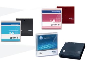腾保LTO 磁带产品(LTO-3 - LTO-7)全系列
