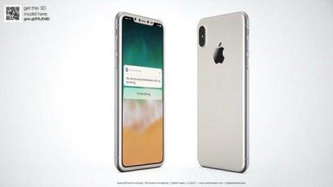 国外大神描绘出来的iPhone 8的样子