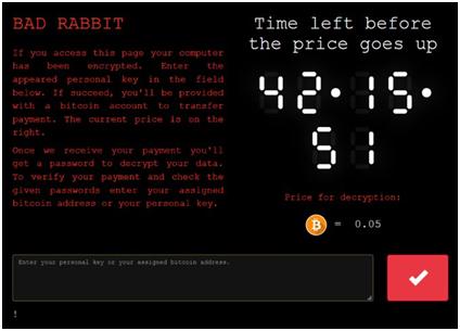 紧急!勒索病毒Bad Rabbit(坏兔子)突袭东欧,勿使用不受支持和过期软件