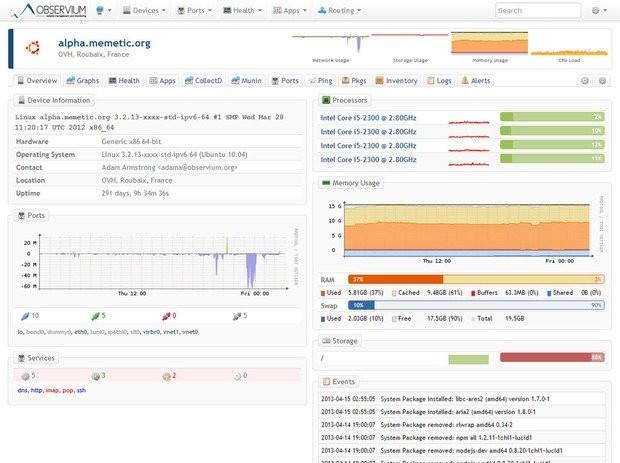 7款开源网络监控软件介绍