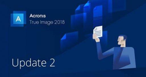 Acronis True Image 2018 发布Update 2