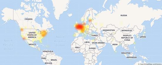 微软OneDrive宕机12小时:多个城市用户无法登录