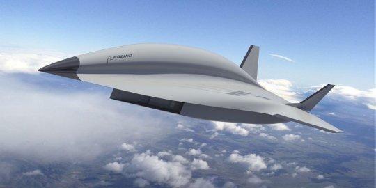 超音速?太慢!未来高超音速飞机每小时6000公里