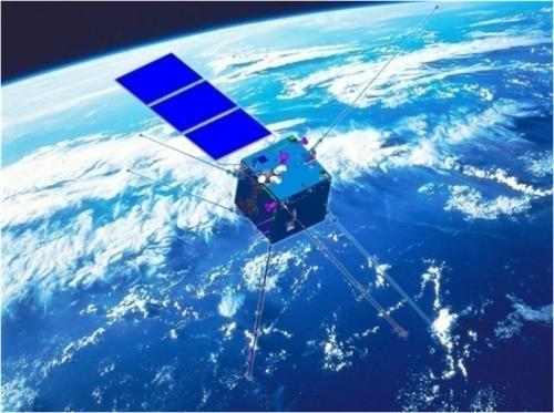 """中国卫星""""张衡一号""""飞向太空""""看""""地震"""