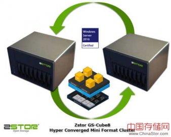 德国存储厂商Zstor发布桌面级迷你超融合群集系统