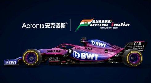 安克诺斯与印度力量F1车队宣布建立正式的数据保护技术合作伙伴关系