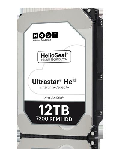 UltraStar He12西部数据监控硬盘