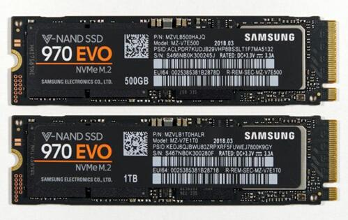 AnandTech:三星970 EVO(500 GB及1TB)SSD评测,性能高价格实惠