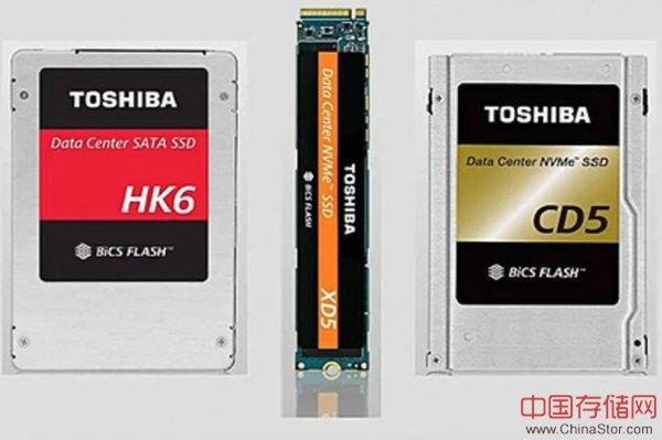 东芝面向数据中心环境发布三款TLC SSD产品